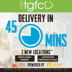 TGFC Express Free Delivery August 2016