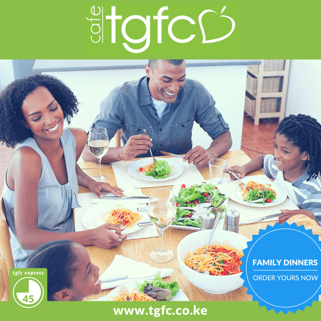 Family Dinners with TGFC